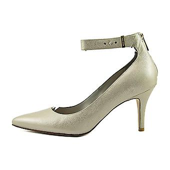 Cole Haan Womens Kyle Back.Zip.PMP II Leather Pointed Toe Ankle Strap Classic...