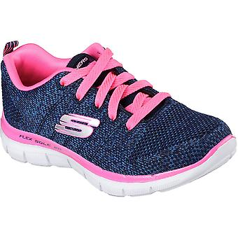 Skechers Girls Skech Appeal 2.0 High Energy Textile Athletic Trainers