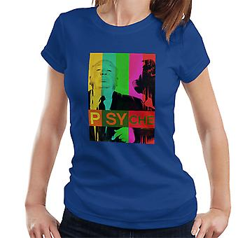 Alfred Hitchcock The Birds Psyche Colour Poster Women's T-Shirt