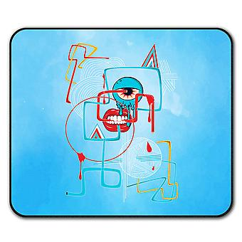 Geometrical Eye Fashion  Non-Slip Mouse Mat Pad 24cm x 20cm | Wellcoda