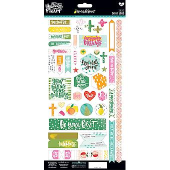 Illustrated Faith Fruit Of The Spirit Cardstock Stickers-Say It Loud IFS1832