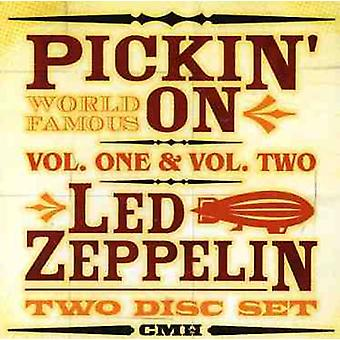 Pickin' on Led Zeppelin - Vol. 1-2-Pickin' on Led Zeppelin [CD] USA import