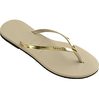 Havaianas You Metallic Flip Flops
