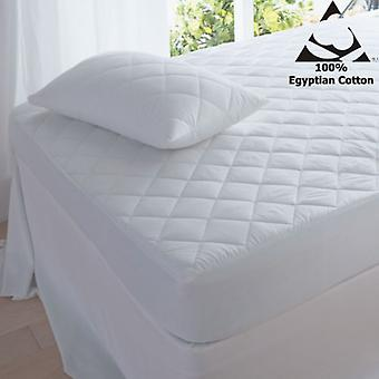 Egyptian Cotton 200 Thread Count Quilted Pillow Protector