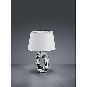 الثلاثي الإضاءة الحديثة طابا الفضة السيراميك الجدول مصباح