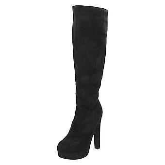 Дамы пятно на высокие ноги на каблуках загрузки