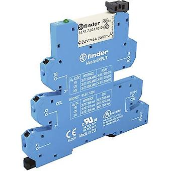 Crossbar switch 1 pc(s) 125 Vdc, 125 V AC 6 A 1 change-over Finder 39.71.0.125.5060