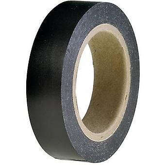 Electrical tape HelaTape Flex 15 Black (L x W) 10 m x 15 mm Hell
