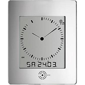 TFA 60-4507 Radio Wall clock 240 mm x 285 mm x 39 mm Silver