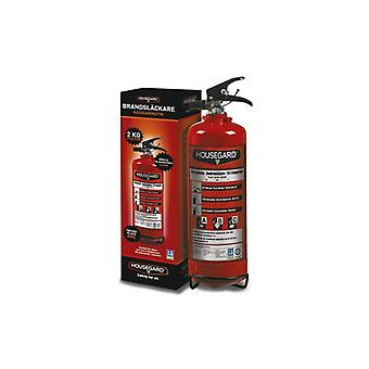 Housegard fire extinguisher Red powder 2 kg