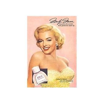 Marilyn Monroe nowy U metalowy znak