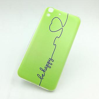 Mobile Shell for Huawei Y6 cover case protective bag motif slim silicone TPU be happy Green
