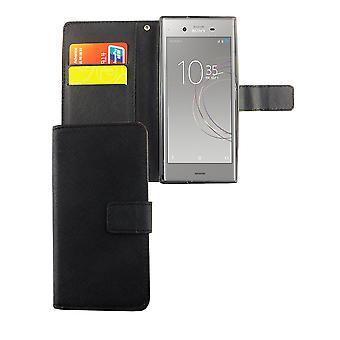 Handyhülle Tasche für Handy Sony Xperia XZ1 Schwarz