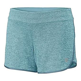 Wilson core shorts girls turquoise WRA753702