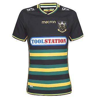 2018-2019 Northampton Saints Home Authentic Test Rugby Shirt