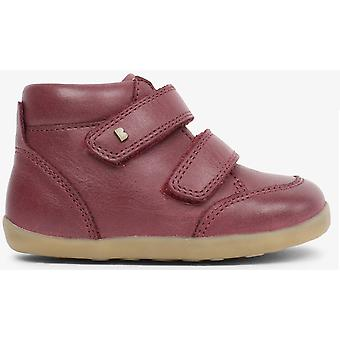 Bobux Step Up Girls Timber Boots Plum