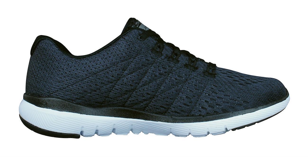 on sale 0493b 44cf8 ... Skechers Flex Appeal 3.0 Satellites Satellites Satellites Wo Trainers /  Shoes - Black 18e2e0