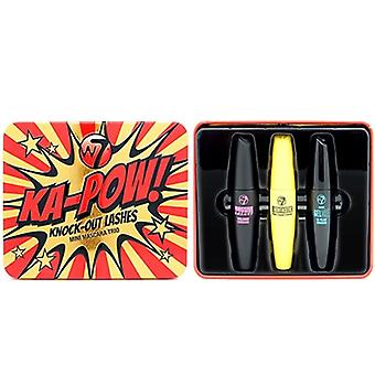 W7 Ka-Pow! Knock Out Lashes Mini Mascara Trio