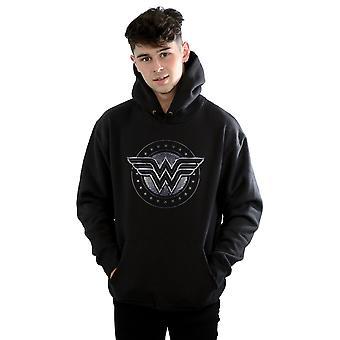 DC Comics mannen Wonder Woman ster schild Hoodie