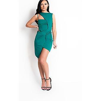 IKRUSH Womens Clara Bodycon Wrap Dress