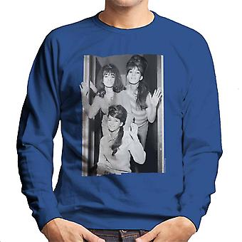 TV Zeiten der Ronettes Wave Herren Sweatshirt