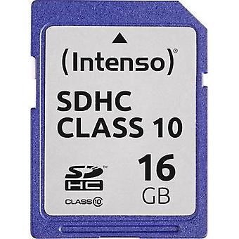 Intenso 3411470 SDHC card 16 GB classe 10