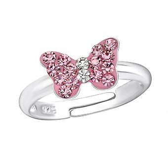 Butterfly - 925 Sterling Silver Rings - W23477x