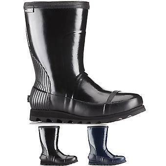 Mujer Sorel Rain Joan brillante corto invierno impermeable botas de lluvia Botas