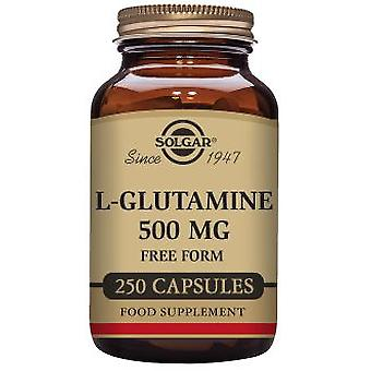 Solgar L-Glutamine 500 mg 50 Vegetable Capsules (Vitamines en Suplementen , Aminozuren)