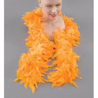 Feather Boa. Yellow.