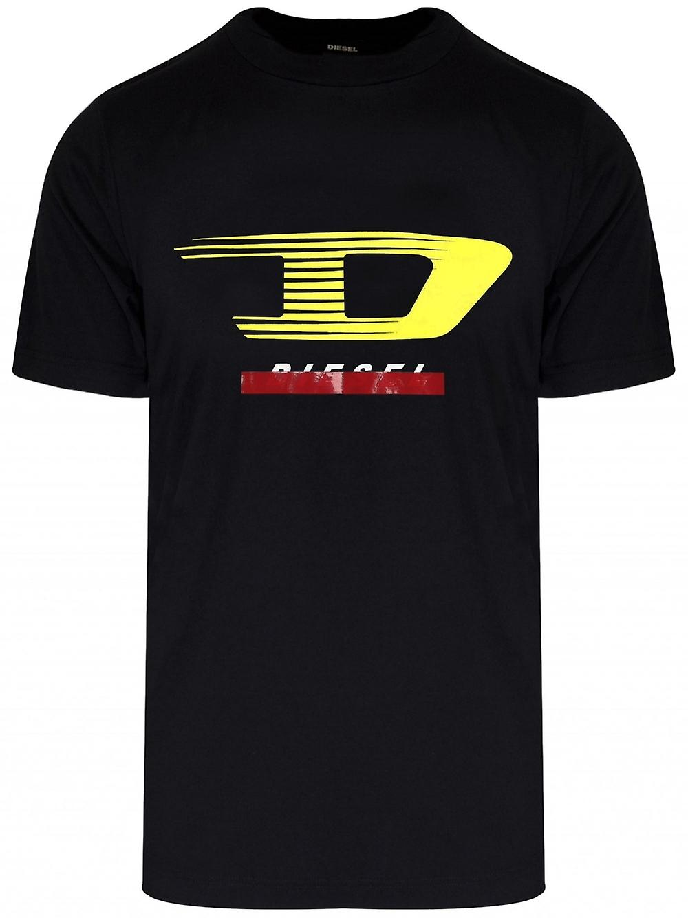 Diesel Diesel Black Just Y4 Logo T-Shirt