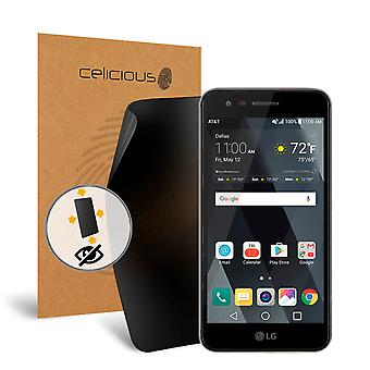 Celicious Privacy Plus 4-Way Anti-Spy Filter Screen Protector Film Compatible with LG Phoenix 3
