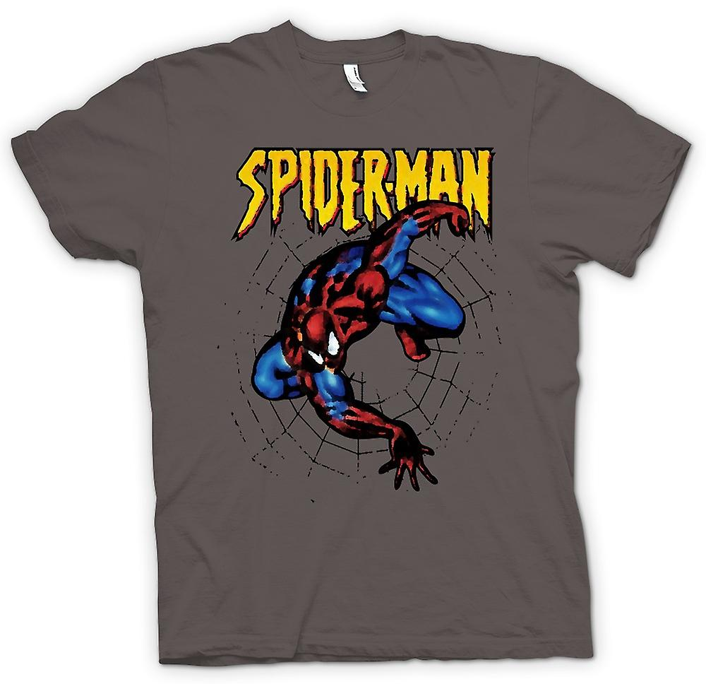 Mens t-skjorte - Superman - Spiderman - Pop Art - komiske Hero