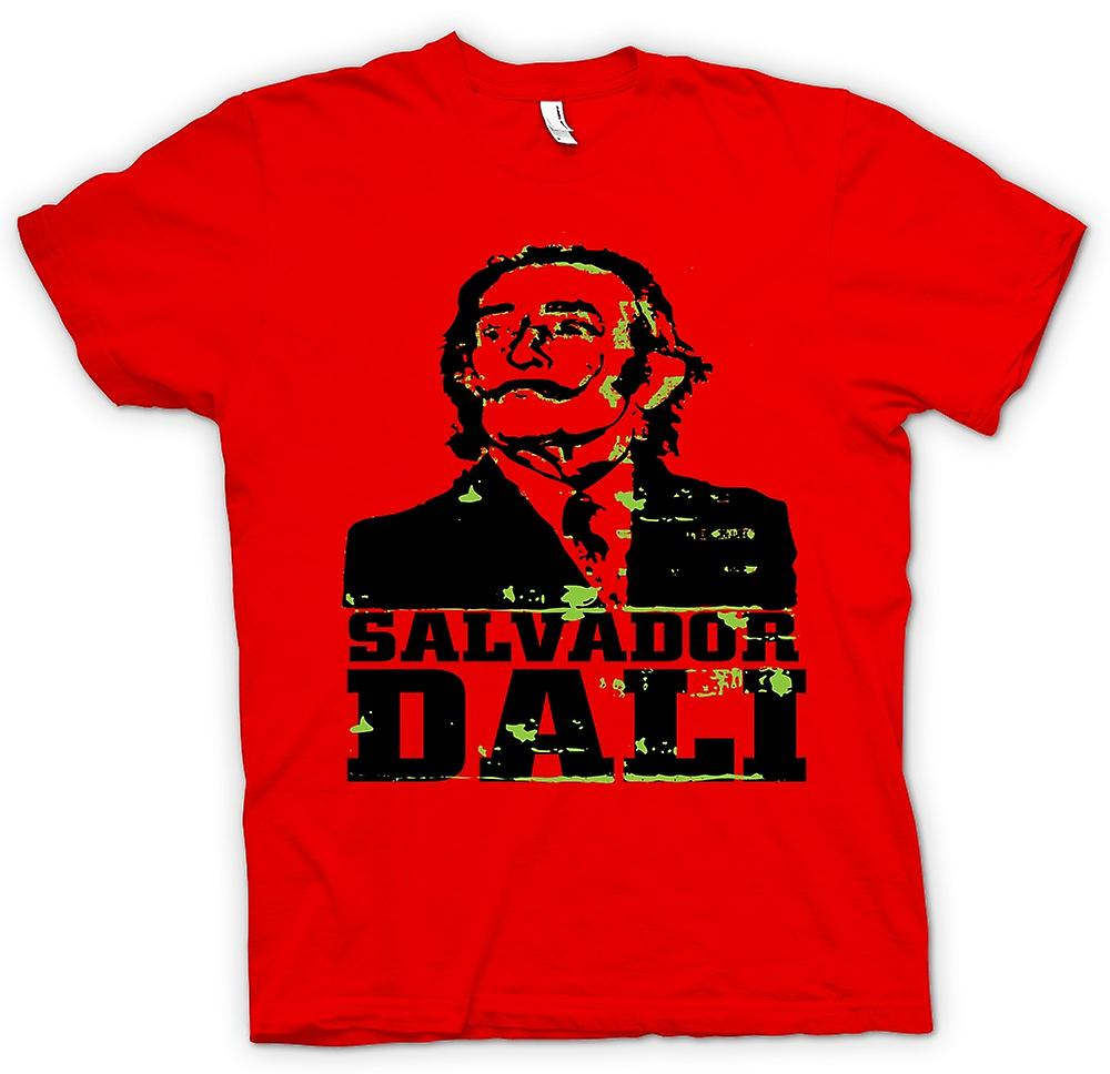 Mens T-shirt - Salvador Dali Portrait - surreale Kunst
