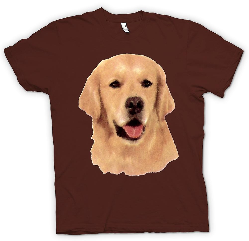 Herr T-shirt - Golden Retreiver - hund