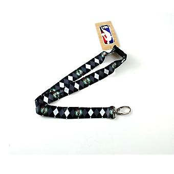 Boston Celtics NBA Argyle Lanyard