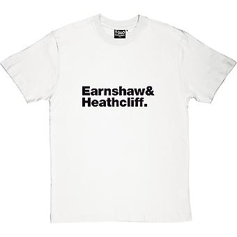 T-shirt dos homens da line-up de Wuthering Heights