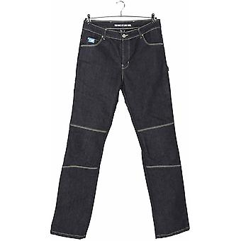 Spada Blue Rigger Selvedge Short Motorcycle Jeans