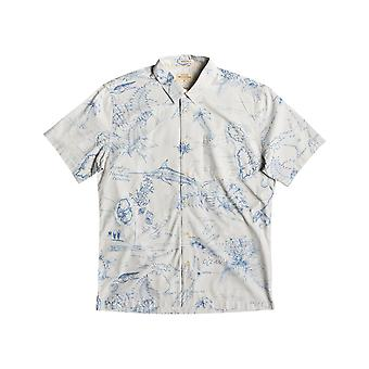 Quiksilver Waterman Pacific Records Short Sleeve Shirt
