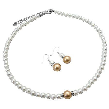 Inexpensive Pearl Jewelry with Silver Rondells Sparkle Like Diamond