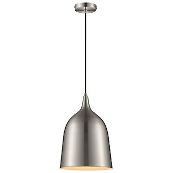 Spring Lighting - Torquay Satin Nickel Single Pendant  DSPG027TO1QFOE