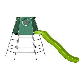 TP Toys Explorer Metal Climbing Frame Set With Slide 18 Months+