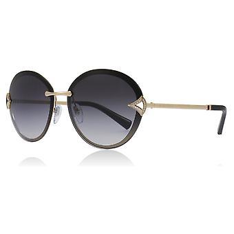 Bvlgari BV6101B 20148G Pink guld BV6101B Oval solbriller linse kategori 3 størrelse 61mm