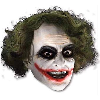 3/4 Vinyl Mask W Hair For Joker