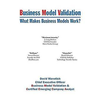 Business Model Validation macht Geschäftsmodelle Arbeit durch Wanetick & David