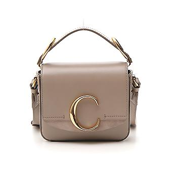 Chloé Grey Leather Shoulder Bag