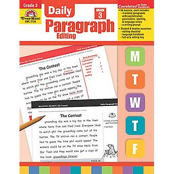 Daily Paragraph Editing - Grade 3 by Barbara Linde - 9781557999573 Bo