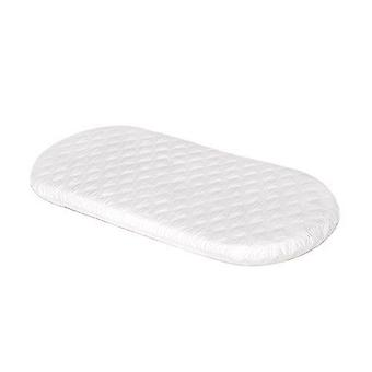Soft Touch Microfibre Hypoallergenic 67cm x 30cm Moses Basket Mattress 4cm Thick
