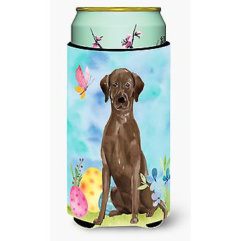 Chocolate Labrador Easter Tall Boy Beverage Insulator Hugger