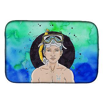 Signe du zodiaque de Carolines trésors BB7316DDM Pisces plat Mat séchage